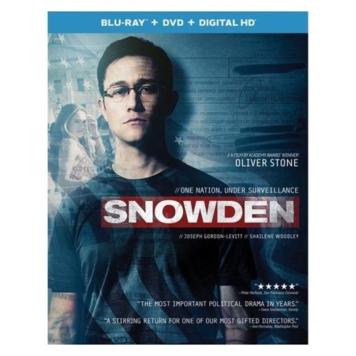 Snowden (blu ray/dvd w/digital hd) MI34TEJYLBSNTLRZ