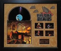 Pink Floyd - Animals - Signed Album LP Custom Framed