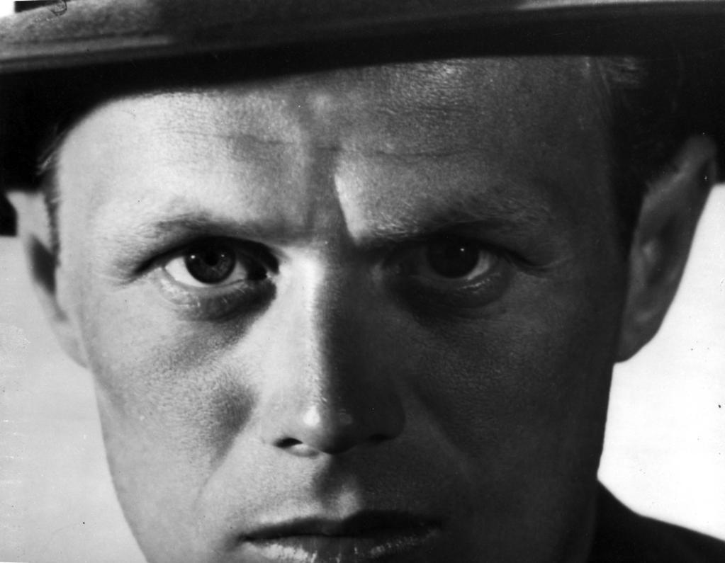 A publicity still of Richard Widmark Photo Print