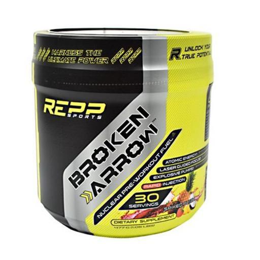 REPP Sports 9450014 Broken Arrow Dietary Supplement, Spiked Punch - 30 Per Serving