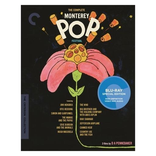 Complete monterey pop festival (blu ray) (ff/1.33:1/3discs/16x9) OWK95TKE4UIFVIVQ