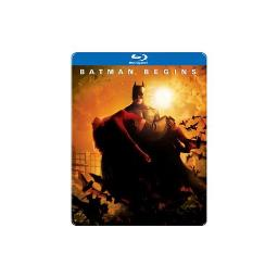 BATMAN BEGINS (BLU-RAY/STEELBOOK) 883929331796