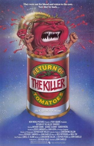 Return of the Killer Tomatoes Movie Poster (11 x 17) ES0N0ZXHXV7WFX02