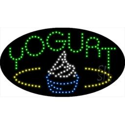 Sign Store L100-1894-outdoor Yogurt Animated Outdoor LED Sign, 27 x 15 x 3.5 In.