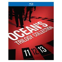 Oceans trilogy collection (blu-ray/4 disc/11/12/13) BR393185