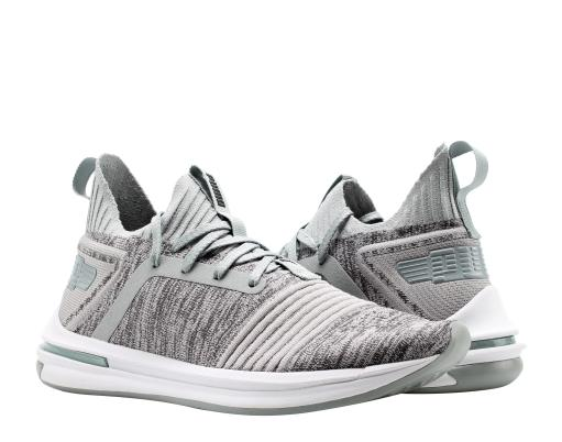1aa0762fbb00 Puma IGNITE Limitless SR EvoKnit Quarry Grey Men s Running Shoes 19048404