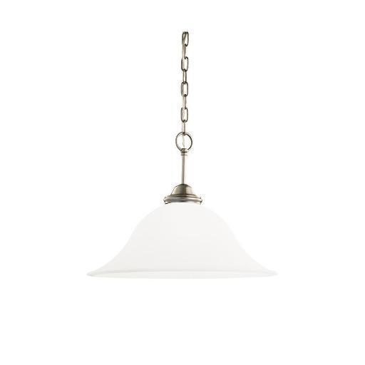 Sea Gull Lighting 65360-965 Rialto 1-Light Pendant Antique Brushed Nickel