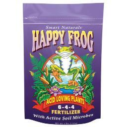 FoxFarm Happy Frog Acid Loving Fertilizer 4 lb (12/Cs)