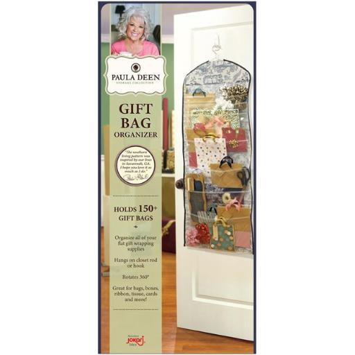 Jokari 20200 Paula Deen Everyday Door Hanging Gift Bag Organizer