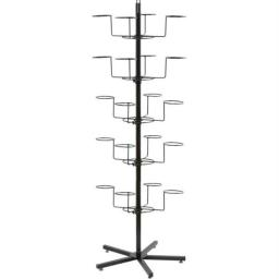 Casual Outfitters GFHATDSP2 Casual Outfitters Floor Display Hat Rack- 20 Hold