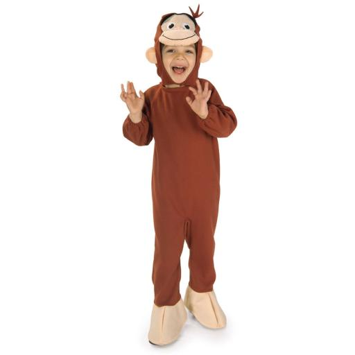 Curious George Child Costume