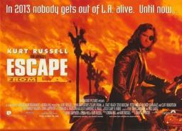 Escape From L.A. Movie Poster (17 x 11) MOV344809