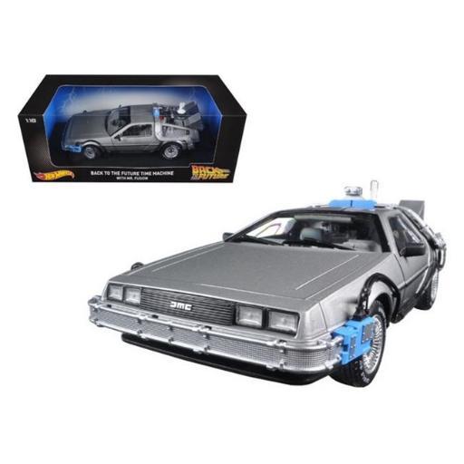 Hot wheels CMC98 Back to The Future Time Machine Delorean with Mr. Fusion 1-18 Diecast Model Car