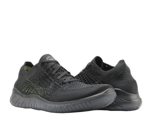 7b31e4299d884 Nike Free RN Flyknit 2018 Black Anthracite Men s Running Shoes 942838-002