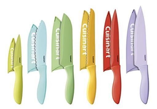 Conair-cuisinart c55-12pcer1 12pc ceramic coated knife set