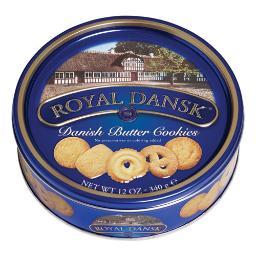 Cookies Danish Butter 12 OZ Tin | Total Quantity: 1