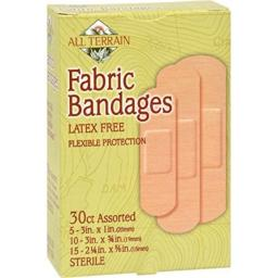 Assorted Fabric Bandages 30 CT