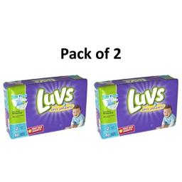 Luvs Ultra Leakguards Diapers Size 2, 80 Count