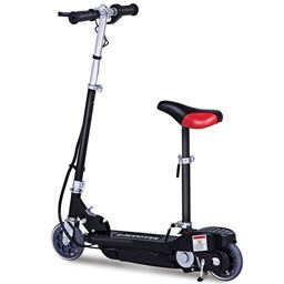 Folding Rechargeable Seated Motorized Electric Scooter