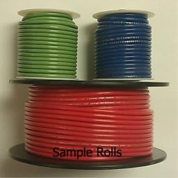 RED 18AWG Stranded 600V Hook Up Wire - 25 Roll