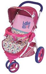 Hasbro Baby Alive D85891 Lifestyle Stroller Toy