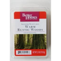 Better Homes and Gardens Warm Rustic Woods Scented Wax Cubes