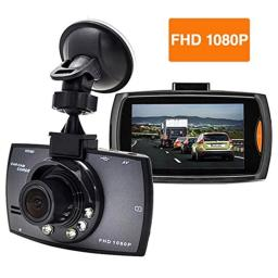 Boytone Dash Cam, with 16GB Micro SD Card Included, Full HD 1080P Monitor Dash Camera, 2.7 Inch Screen 170 Degree Wide Angle Lens, Night Vision G-Sensor, Loop Recording Motion Detection, DC-56