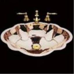 Bates & Bates MBO 1822 B1822A.ON Old Nickel Dual Mount Bathroom Sink 17 x 22 x 7