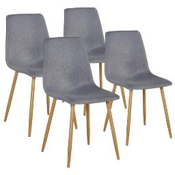 Set of 4 Eames Dining Chairs