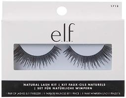 e.l.f, Natural Lash Kit, Lightweight, Reuseable, Achieves Natural, Full-Looking Lashes, Includes 2 Pieces and Contour Tray