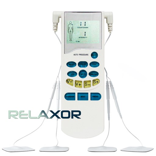 Relaxor Electronic Pulse Massage Therapy Device Helpful in Relieving Aches And Pains In Waist, Shoulders, Joints, Hands & Feet