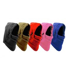 Fancy Kids All-In-One Thermo-Fleece Face And Neck Warmer-Color: Black