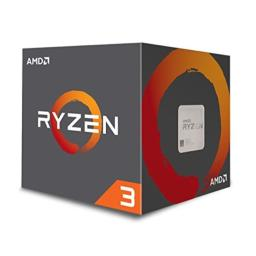 AMD Ryzen 3 1200 Desktop Processor with Wraith Stealth Cooler (YD1200BBAEBOX)