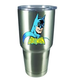 Spoontiques 18462 Batman Large Stainless Steel Mug, Silver