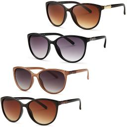 Womens Diva Decorated Sunglasses (4 Pack)