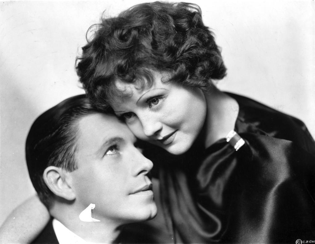 A publicity still of Nancy Carroll and a male co star Photo Print
