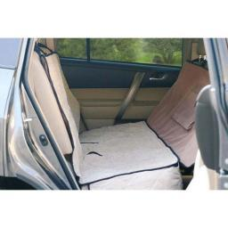 K&H Pet Products 7861 Tan K&H Pet Products Deluxe Car Seat Saver Tan 54 X 58 X 0.25
