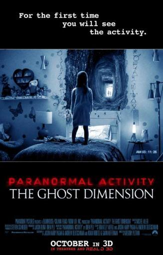 Paranormal Activity The Ghost Dimension Movie Poster (27 x 40) 837729
