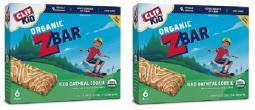 Clif Kid Organic Z Bar Iced Oatmeal Cookie 2 Box Pack