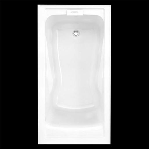 American Standard 2425V-RHO002.020 Evolution 5 ft. x 32 in. Integral Apron Bath Tub, Right Hand Outlet - White