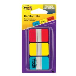 3m company durable index tabs 1x1 5 3 pk 686rybt