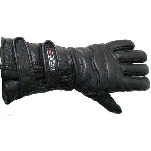 Shelter 1001-L Perrini Motorcycle Gloves Close out Winter Riding Leather Biker Leather Gloves New - Large HCHG8HSJBD8EPQNH