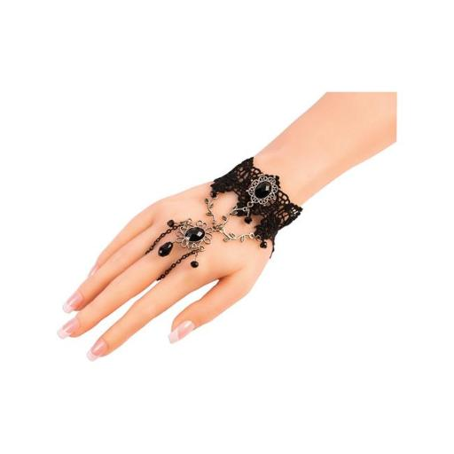 Forum Novelties 277416 Halloween Dark Royalty Hand Jewelry - Nominal Size