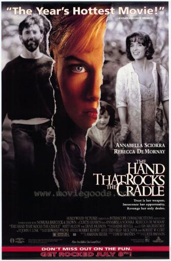 The Hand that Rocks the Cradle Movie Poster Print (27 x 40) BXJ2FTEJSZE0NFE2
