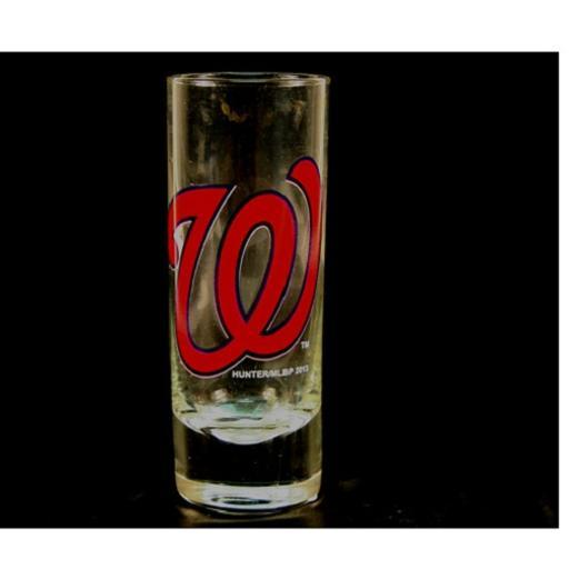 "Washington Nationals MLB ""Hype"" Tall Shot Glass 1272828"