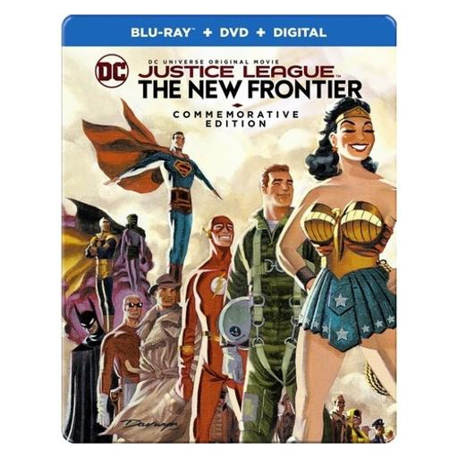 Justice league-new frontier (blu-ray/dvd/uv/commemorative ed/steelbook) 1300840