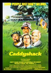 Caddyshack - Signed Movie Poster