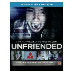 Unfriended (blu ray/dvd w/digital hd w/ultraviolet) BR61168942