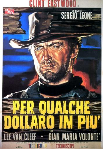 For A Few Dollars More Clint Eastwood On Italian Poster Art 1965 Movie Poster Masterprint