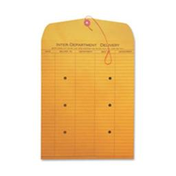 Quality Park Products QUA63564 Standard Style Inter-Department Envelope- 10in.x15in.- Kraft